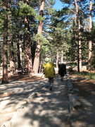 Rock Climbing Photo: Hiking the trail to the Ranger Station, Tramway
