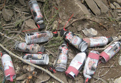Rock Climbing Photo: How many cans of canned air does it take to clean ...