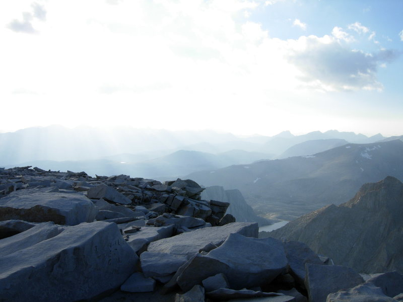 summit, way to late in the day.