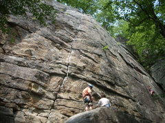 Rock Climbing Photo: In this Picture you can see why Kens Crack Rocks!