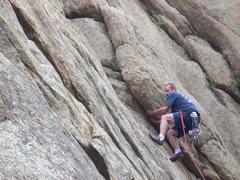 Rock Climbing Photo: [Harder than it Looks].