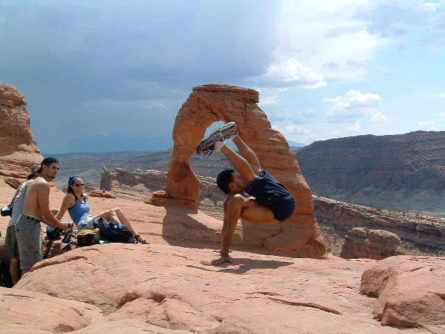 Servantes' Russian @ Delicate Arch with Ray Alava and Mike & Christine Paz.