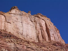 Rock Climbing Photo: Paul Ross and Layne Potter barely visible on the F...