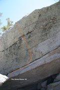 Rock Climbing Photo: The Green Room Topo