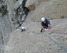 Rock Climbing Photo: Feather fingers