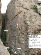 Rock Climbing Photo: Between a Rock and an Easy Place, far left in phot...