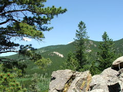 Rock Climbing Photo: White Pines West as seen from Box Prairie/Dragon S...