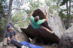 Rock Climbing Photo: Big hugs but no kisses.