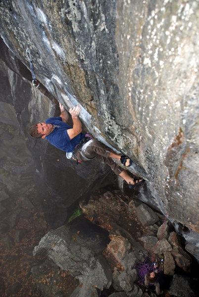 Rock Climbing Photo: Tim Deroehn, Butt Bongo Fiesta