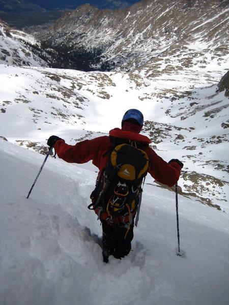 5/3/08 - descent toward Frozen Lake.