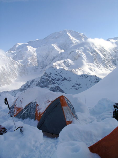View of Denali from Camp 1