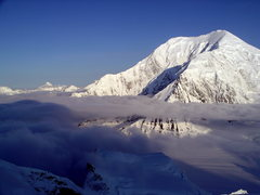 Rock Climbing Photo: View of Mt Foraker from Camp 2