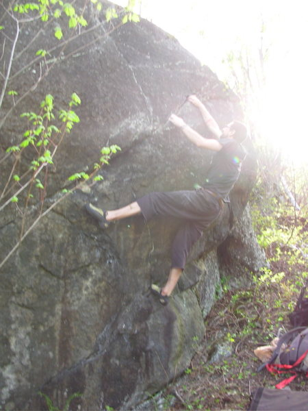 Rock Climbing Photo: Chris Deulen on Tree Hugger