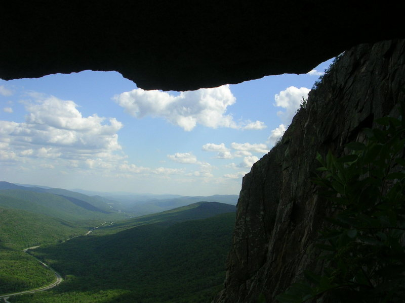 Rock Climbing Photo: Afternoon scenery from the ledge.Photo by Teresa N...