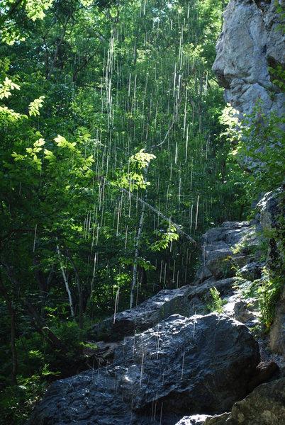 Waterfall at New Wave.