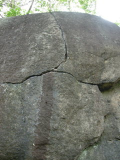 Rock Climbing Photo: Watch it weave; Sigourney Weaver Crack.