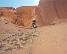 Rock Climbing Photo: Pitch 2 James belaying Paul who is leading the pit...
