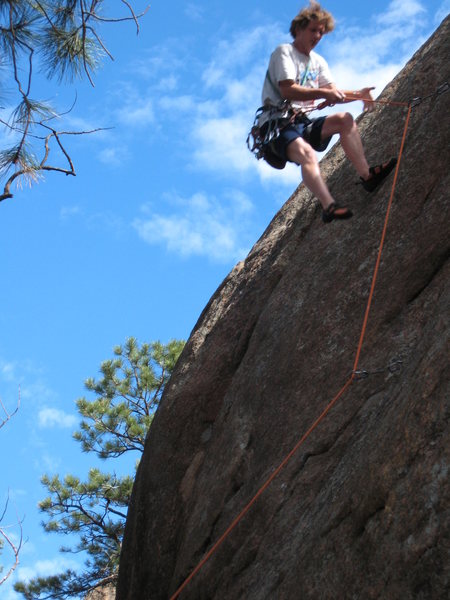 Rock Climbing Photo: Yes, it happens - even (or especially?) to the bes...