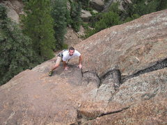 Rock Climbing Photo: Perfect rock, perfect weather, great friends: What...