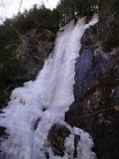 Rock Climbing Photo: A late season view of Hot Shot