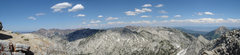 Rock Climbing Photo: A panoramic view eastward from the summit of Lone ...