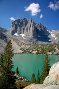 Rock Climbing Photo: The classic view from Second Lake