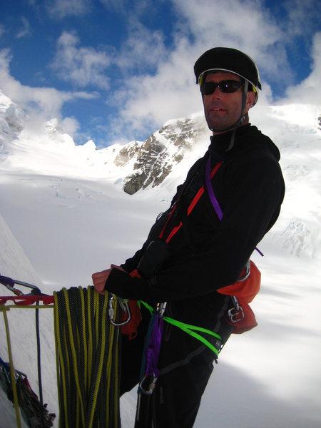 B-Rad Grohusky - peak 11,520' - West fork, Tokositna Glacier