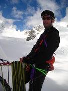 Rock Climbing Photo: B-Rad Grohusky - peak 11,520' - West fork, Tokosit...