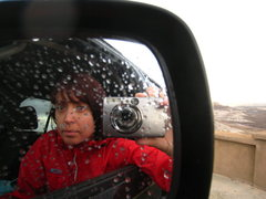 Rock Climbing Photo: Dodging raindrops: heavy monsoon weather in centra...