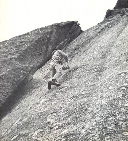 Tobin Sorenson 1973 Photo from stonemasters