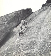 Rock Climbing Photo: Tobin Sorenson 1973 Photo from stonemasters