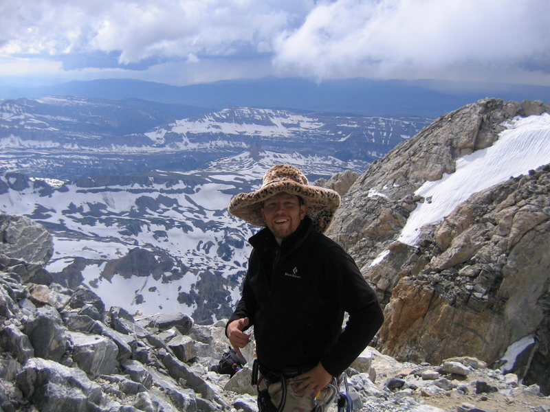 Rock Climbing Photo: Pimp'n on the Teton