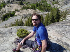 Rock Climbing Photo: Dirt Bag Climber