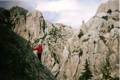 Rock Climbing Photo: Exploring Castle Crags State Park, CA above the Ro...