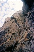 Rock Climbing Photo: Climbing Tangerine Dream (4 pitch II 5.9+) on the ...