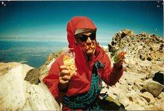 Rock Climbing Photo: Mt. Sahsta summit shot.