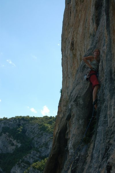 Climbing at Capusin