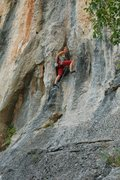 Rock Climbing Photo: Ropegunning 11a