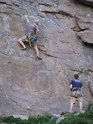 Rock Climbing Photo: Starting F.Y.D.