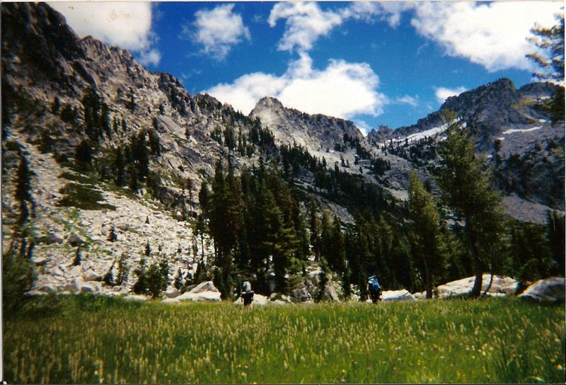 "Rock Climbing Photo: ""El Lake"" in the Trinity Alps Wilderness..."