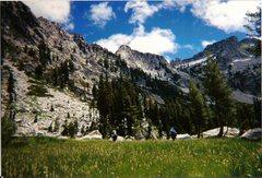 "Rock Climbing Photo: ""El Lake"" in the Trinity Alps Wilderness..."
