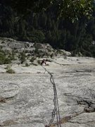 Rock Climbing Photo: Royal Arches rappel route.