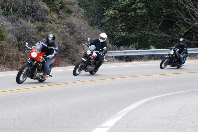 Rock Climbing Photo: Riding the twisties on Hwy 1 around Big Sur.  I'm ...
