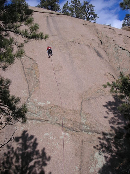 Rock Climbing Photo: Me on Just Chillin