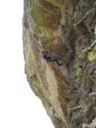 Rock Climbing Photo: Eric Rhicard rockin' it.