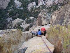 Rock Climbing Photo: Hai Ngyugen on Cloud Tower P5.