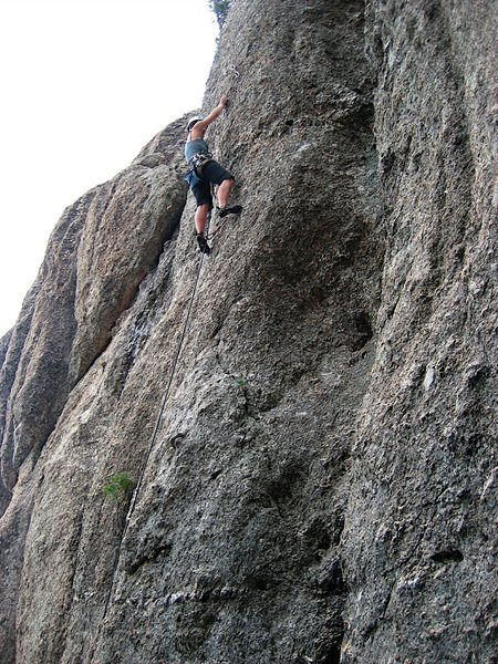 Rock Climbing Photo: Chelsea Cook nears the business on the Scratching ...