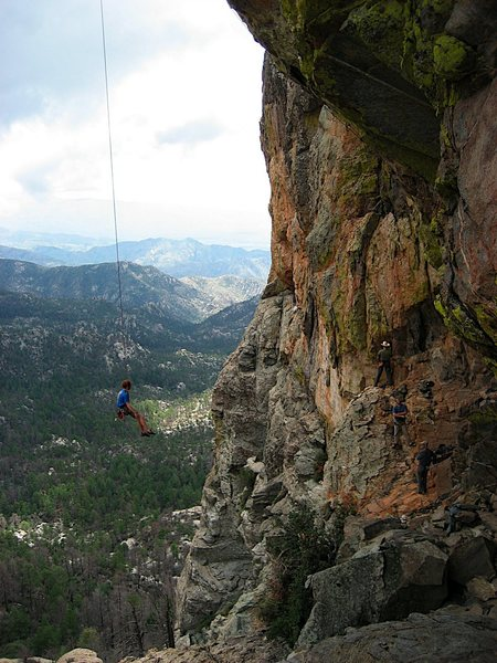 Today's word of the day: overhanging.  Wow! Photo by Chelsea Cook.