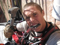 Rock Climbing Photo: Arrrgh!