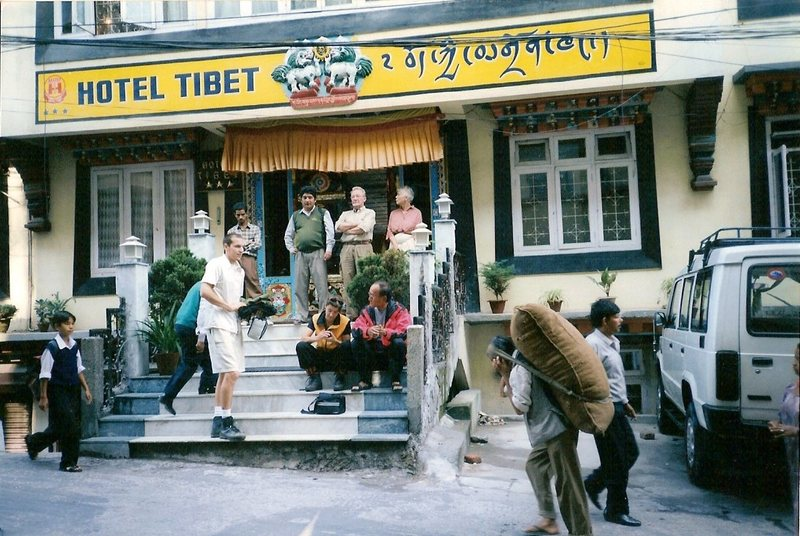 Hotel Tibet, our accommodations in Gangtok. Great food!